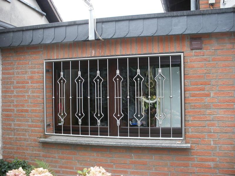 Brungs metallgestaltung fenstergitter - Fenstergitter edelstahl einbruchschutz ...
