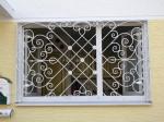 Herzen Entwurf, Schmiedeeisen, Fenster Einbruchschutz